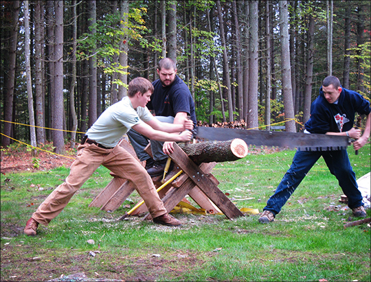 Paul Smith's College Woodsmen's Team Exhibitions (29 September 2012)
