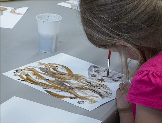Junior Naturalists: Mud Painting