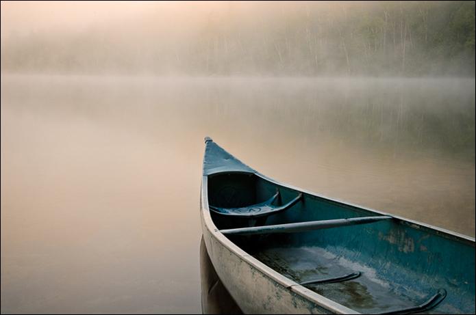 John DiGiacomo:  Canoe In Mist