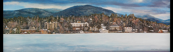 Edith Urban:  Lake Placid