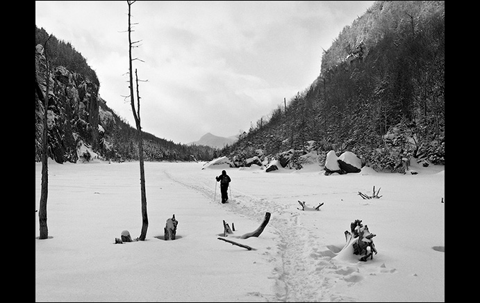 Jim Bullard: Snowshoeing on Avalanche Lake