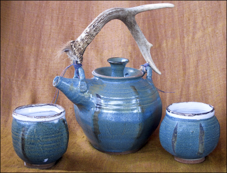 Anne Burnham: Antler Tea Set