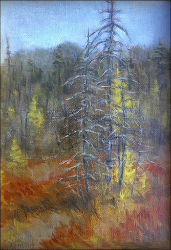 Charles Atwood King: Boreal Trail View