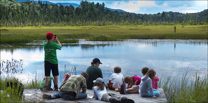 Nature Programs for CHildren at the Paul Smiths VIC: Exploring Adirondack Wetlands