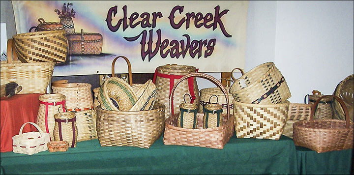 Workshops at the VIC:  Clear Creek Weavers