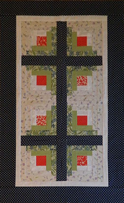 Log Cabin quilt pattern