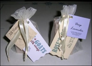 Goat Milk Soap from Rose's Goats. Photo courtesy of Rose Bartiss.
