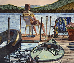 Valerie Patterson: On the Dock