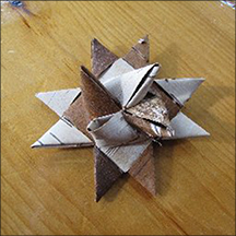 Workshop Sunday at the Paul Smiths VIC: Make your own German Birch Bark Star